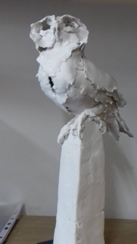 Petals and Claws - Porcelain Owl Workshop