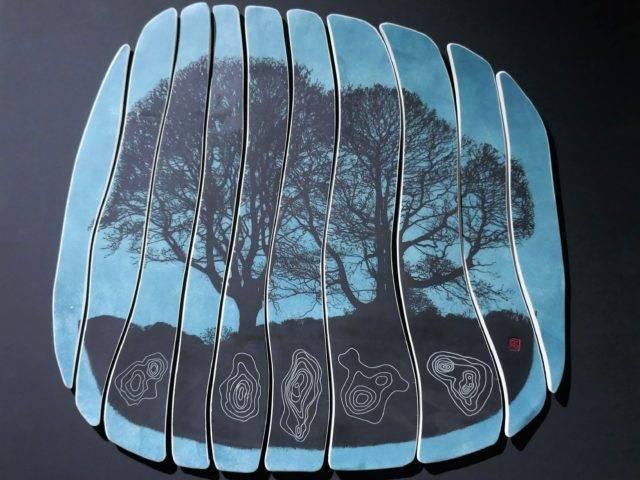 Dusk Trees I