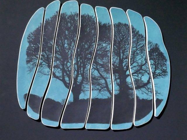 Dusk Trees II