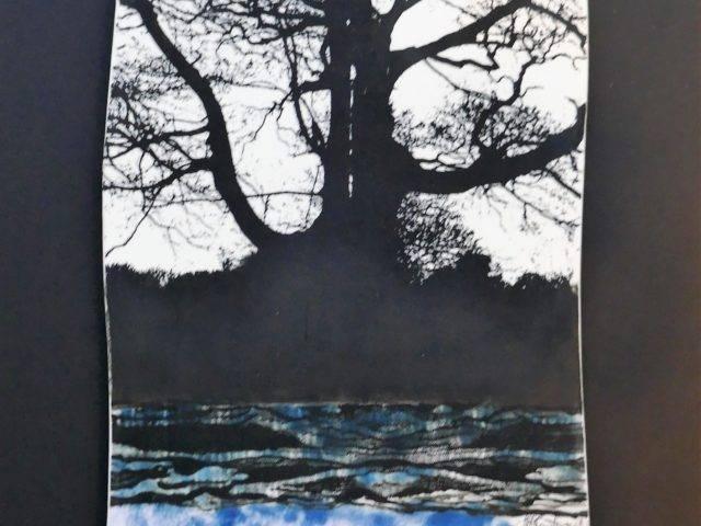 Porth Nefyn Megalith with Tree