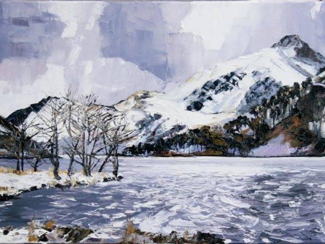 Winter, Llyn Gwynant