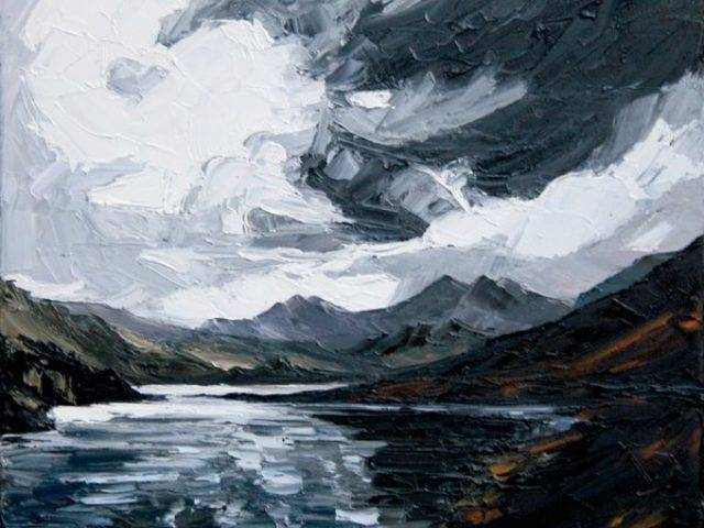 Storm over Snowdon