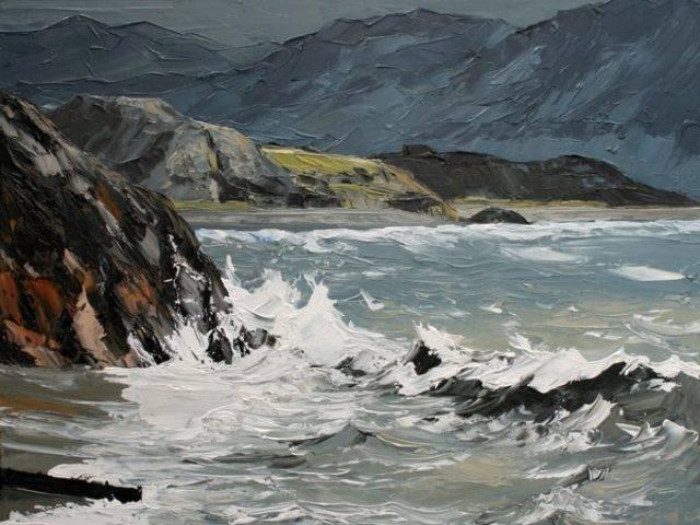 Sea at Cricieth
