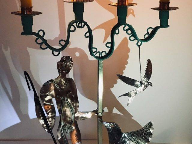 Adam and the Plovers Candelabra