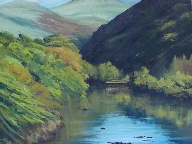 Calm before Aberglaslyn Pass