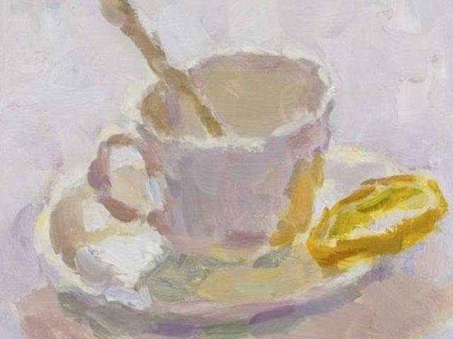 Lynne Cartlidge - Teacup and Lemon Slice