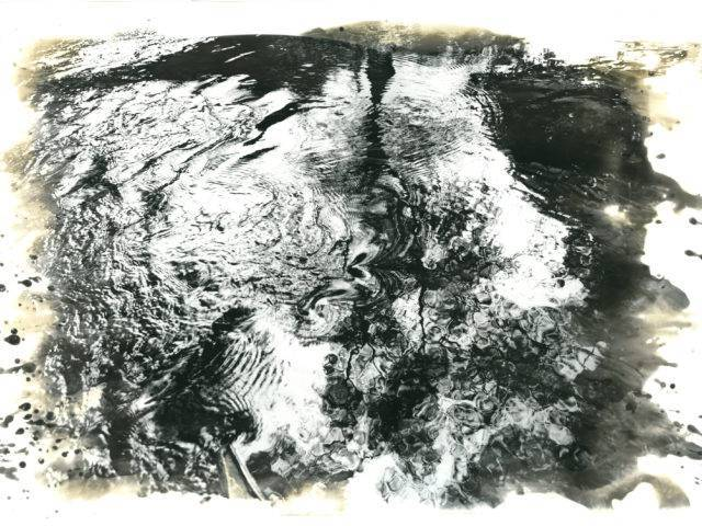 David Heke - '... the water sliding like oil under the trees ...'