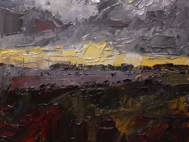 Evening Light Pensarn Harbour