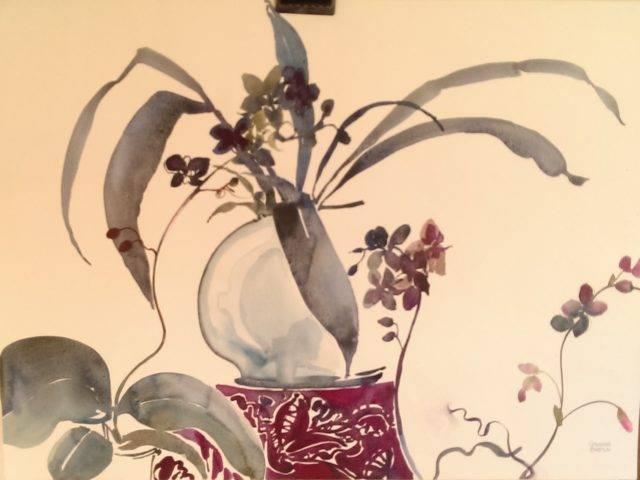 Blue Japanese Vase