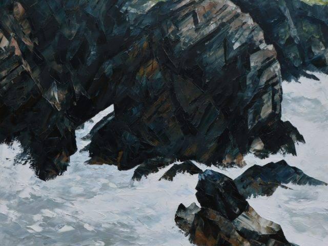 Stormy Sea, Lochtyn, Llangrannog