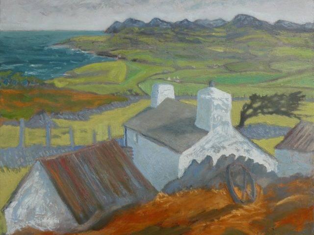 Anelog Cottage towards Carnguwch