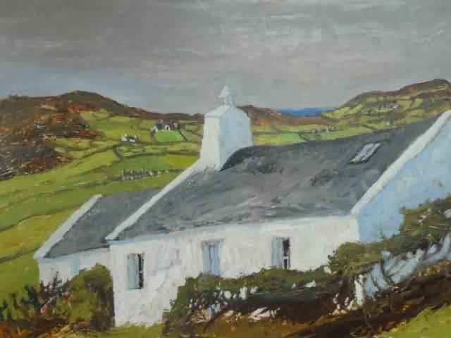 Enlli Cottage towards Anelog