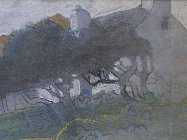 Tree and Cottage, Anelog