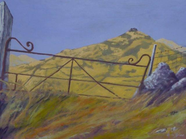 Gate to Carnguwch