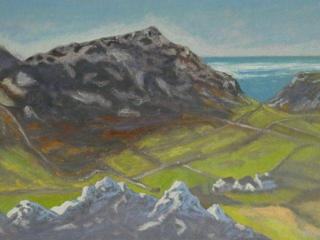 Tre'r Ceiri from Moel Carnguwch
