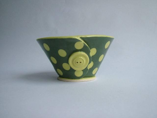 Spotty Button Sugar Bowl