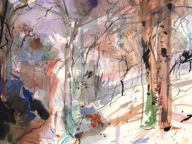 Winter Landscape, Llanddeusant I
