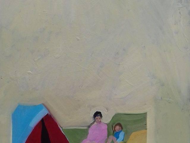 Mum and me camping