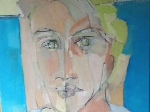 On Any Given Sunday - Artist Self portrait