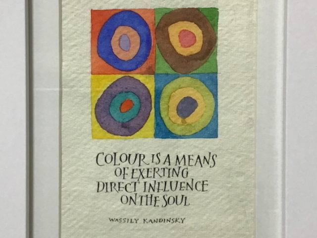 Kandinsky - colour