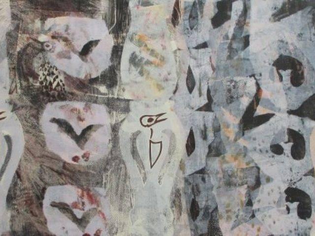 Winter Bird: Song Thrush 1 2016