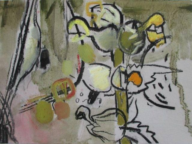 Yellow Rattle,  Burnet Pupa Case