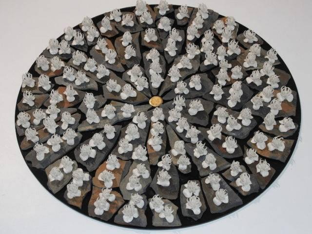 Liz Ellis - Petals and Claws (£15 each)