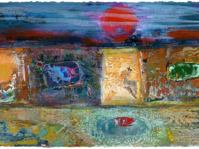 45. Machlud yn y Pwll (Sunset in the pool)