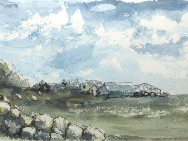 Wal Gerrig, Porth Ysgaden