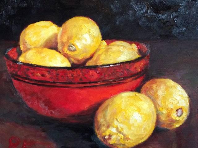 Lemons mewn polwen Tsieiniaidd