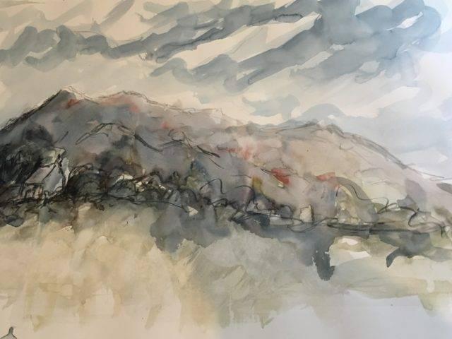 Rachel Stewart - Grey Day, Llaniestyn