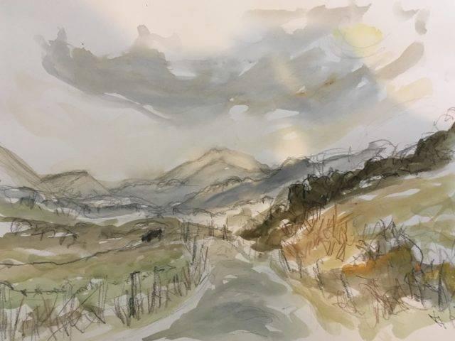 Rachel Stewart - Autumn Glow Snowdonia
