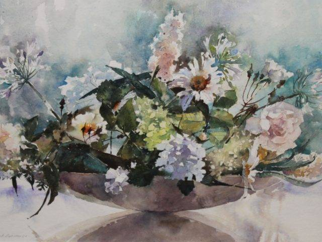 David Grosvenor - White Flowers
