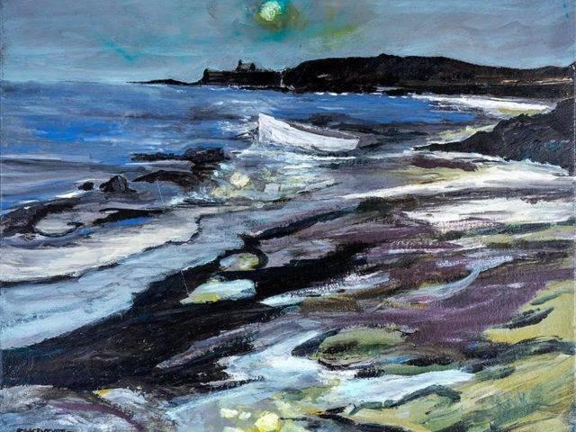 Porth Cwyfan, Moonlight