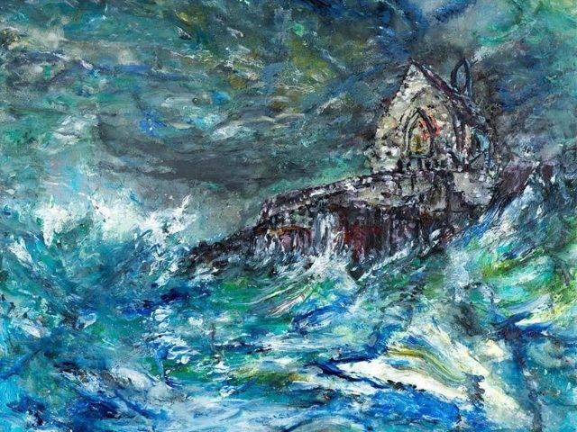 Porth Cwyfan Storm, Ynys Mon