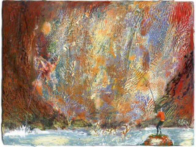37. Sgotwr Coch (Red fisherman)