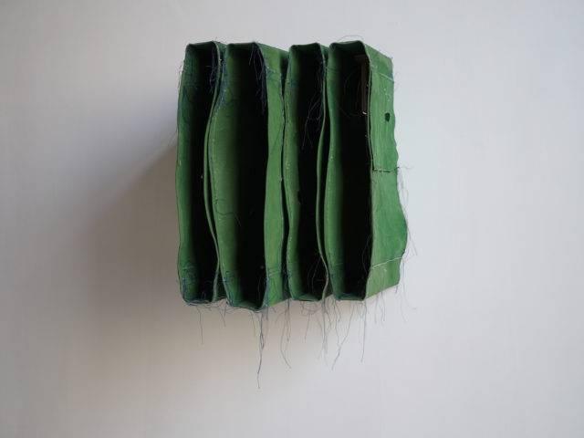 Simon Callery - Green Wallspine (Villa Carpegna), 2018