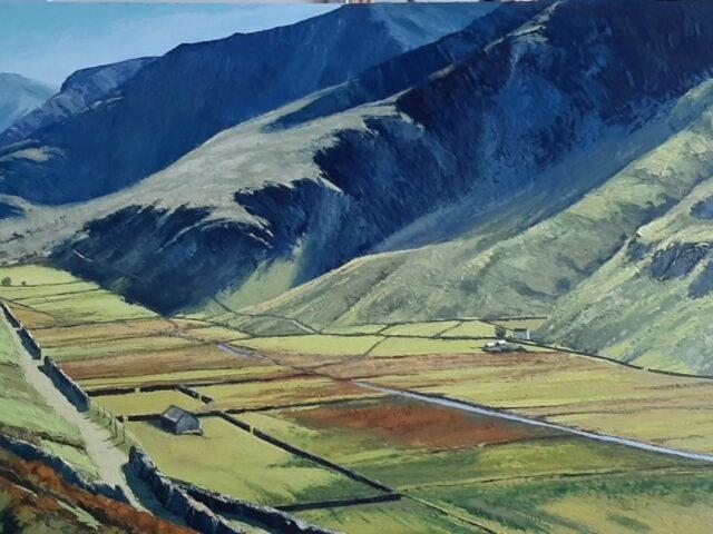 Sunlit Valley, Nant Ffrancon`