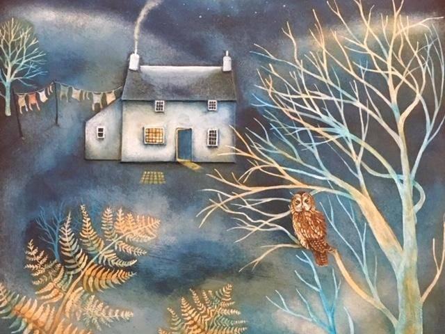 Tawny Owl, Pen Bryn