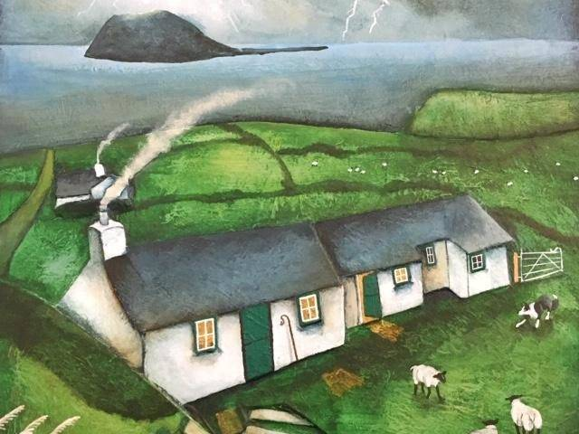 Storm approaching, Bryn Canaid