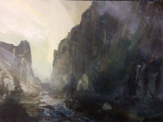 Path through the mountain Dinorwig
