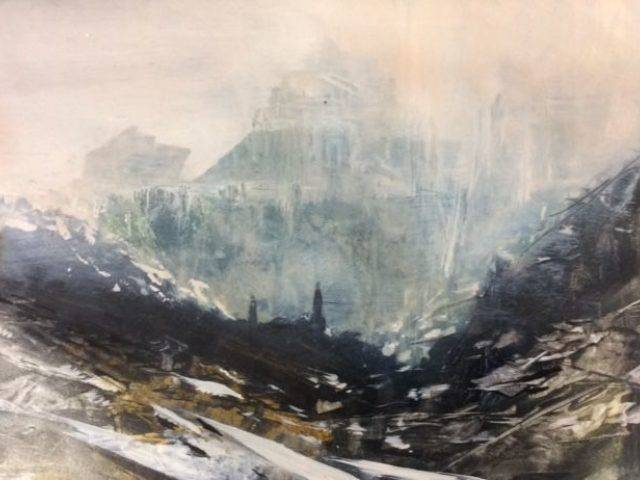Steam Rising from Slate, Dinorwig