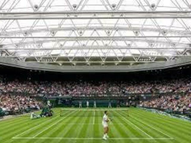 2 diced diwrnod yng Nghwrt Canol Wimbledon, Diwrnod Cyntaf